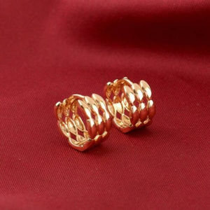 Jewelry - 😉 18K Yellow Gold Filled 14MM Huggie Hoops 😉